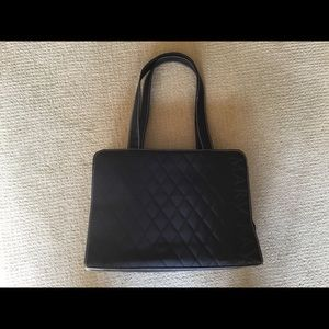 Mary Kay Black Quilted Tote